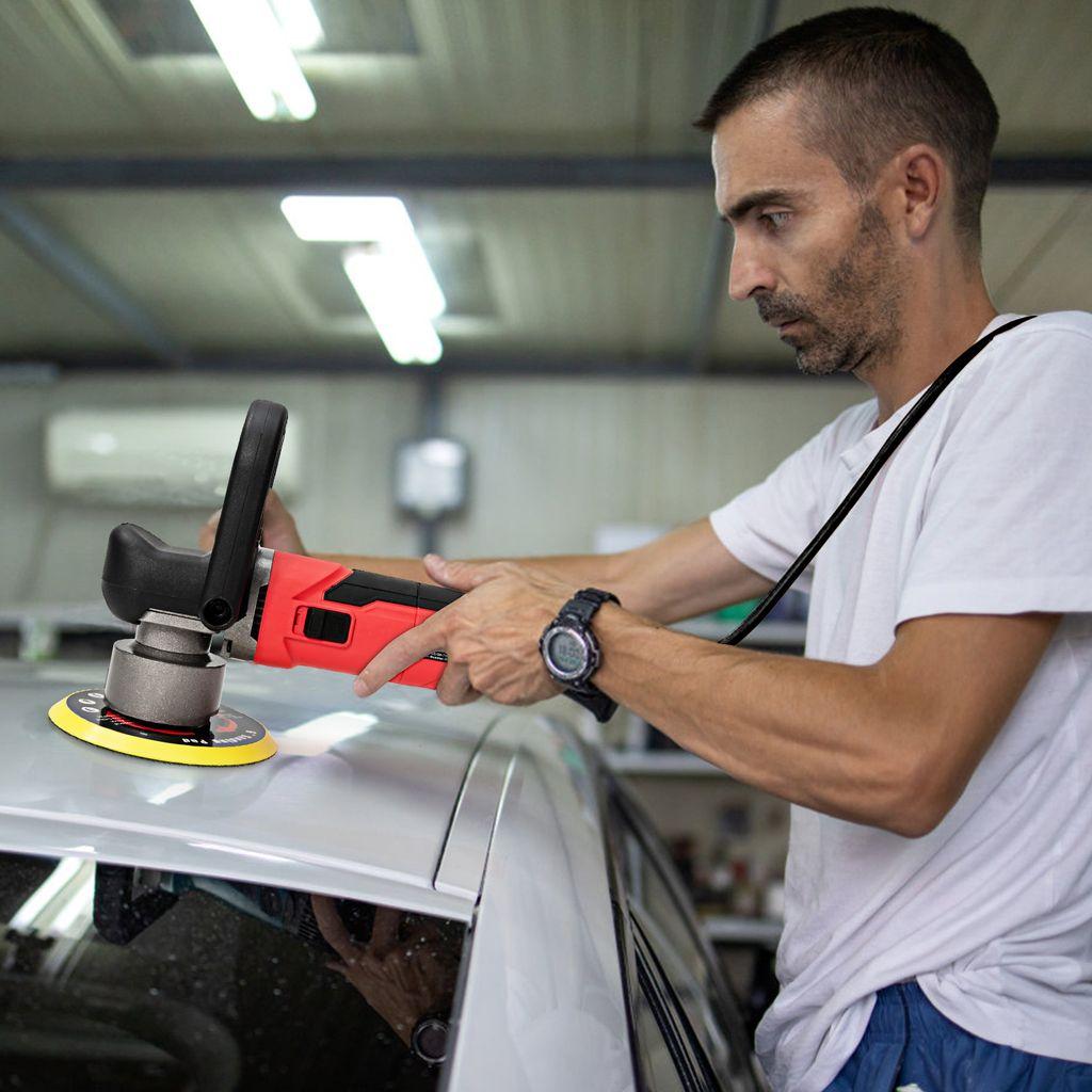 Profi Poliermaschine Auto Poliergerät Sets Schleifmaschine 1200W