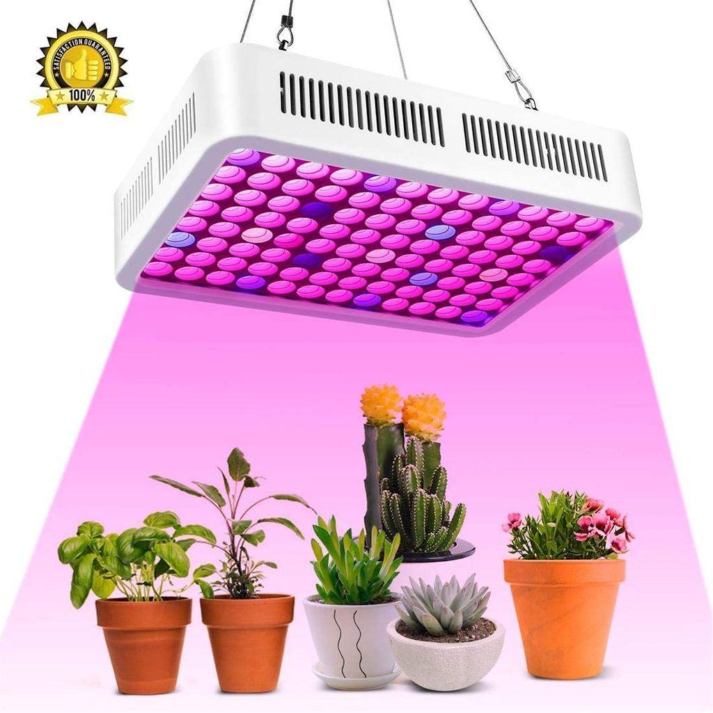 9 Stück 9W LED Pflanzenlampe, Led Grow Lampe Full Spectrum Wachsen Licht  Wachstumslampe Pflanzenlicht für Zimmerpflanzen Gemüse und Blumen