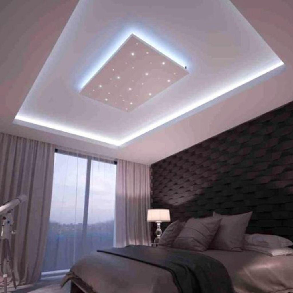 Bausatz LED Sternenhimmel 20,820 m x 20,220 m kaltweiße LEDs zum LED  Sternenhimmel selber bauen. Das Sternenhimmel Komplettset für Montage an  Wand oder ...