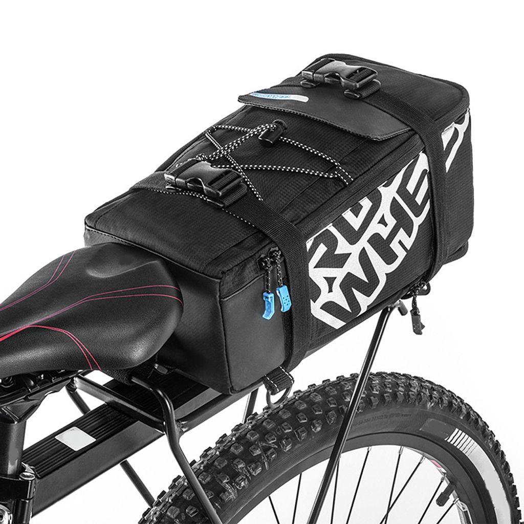 Outdoor-Radsatteltasche Fahrrad Mountainbike Rücksitz Heckbeutel Tasche DE