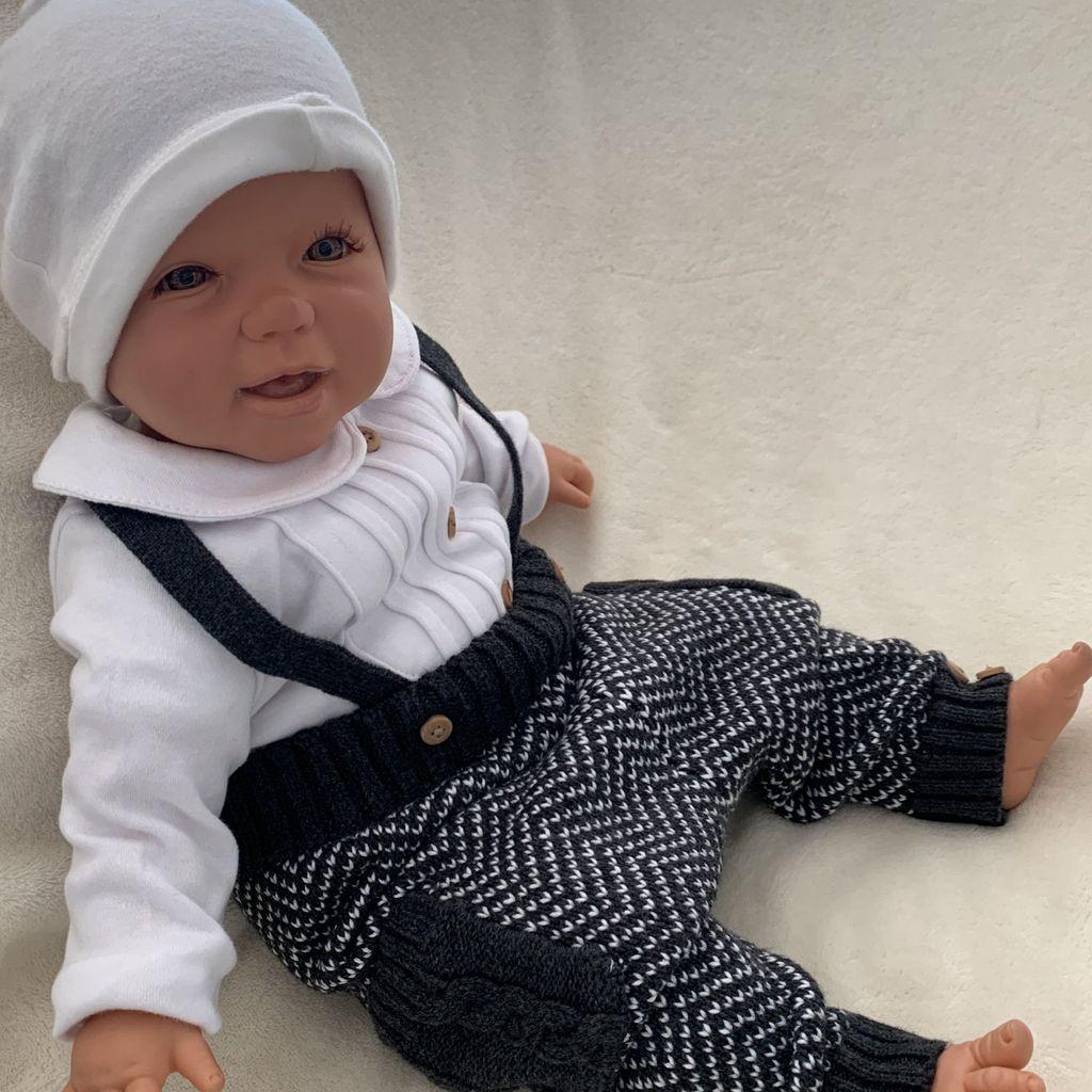 Mitwachshose,Autos Pumphose Baby Kleinkind Hose Junge 62-116Handmade BW-Jersey