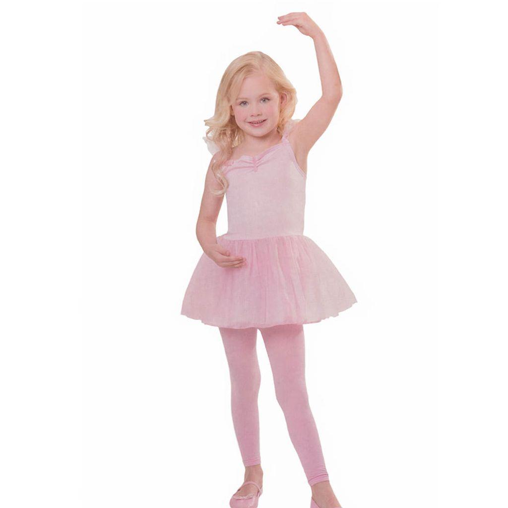Pinkes Ballerina Kleidchen Kostüm Größe 116 bis 134 Mädchen Kinder Tutu Tänzerin