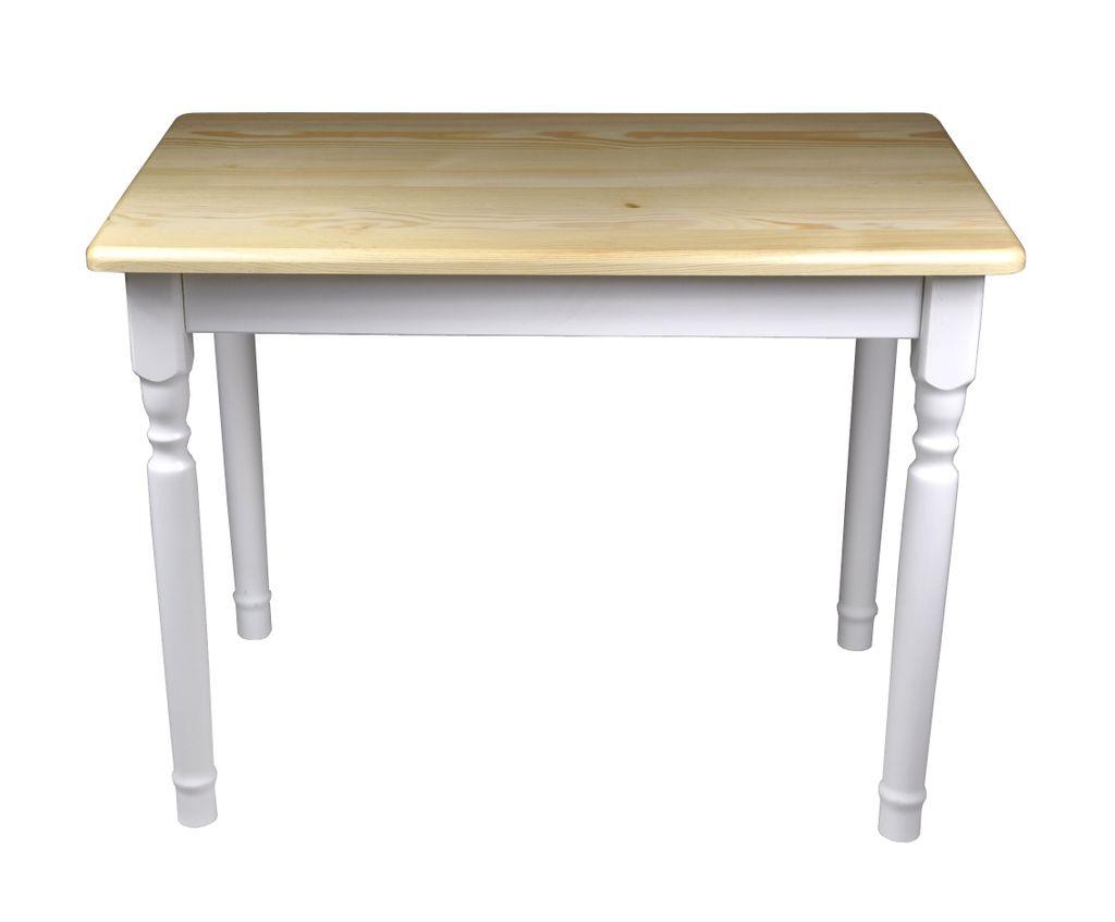 Esstisch Küchentisch Tisch Kiefer massiv Restaurant Holz Speisetisch in  versch. Größen 9x9, Kiefer Lackiert