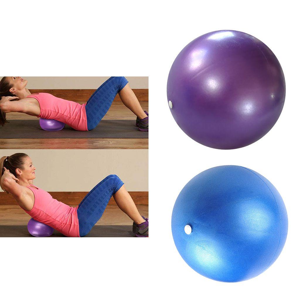 B/üro,Sitzball ZHOUZHOU 25CM Pilates Ball,Kleine /Übung Ball Smit aufblasbaren Pipette,t/ärkung der Bauchmuskulatur und partielle Massage f/ür Yoga
