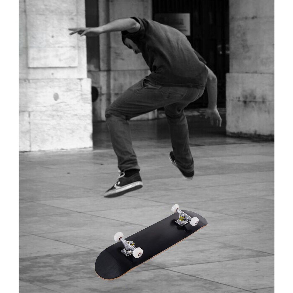 Skateboard Jugendliche Komplettboard mit ABEC-7 Kugellager streakboard Skateboard Mini Skateboard f/ür Kinder Jugendliche Erwachsene Cruiser Skateboard