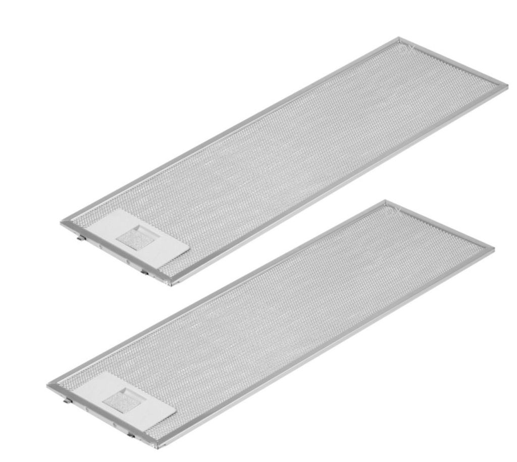Metallfettfilter hinten 457x175mm Dunstabzugshaube Alternativ Siemens Neff352813