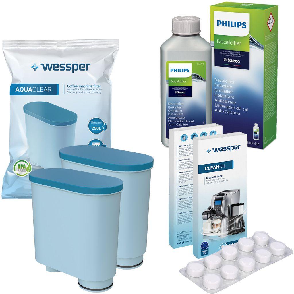 6x Wasserfilter für Philips EP1220//00