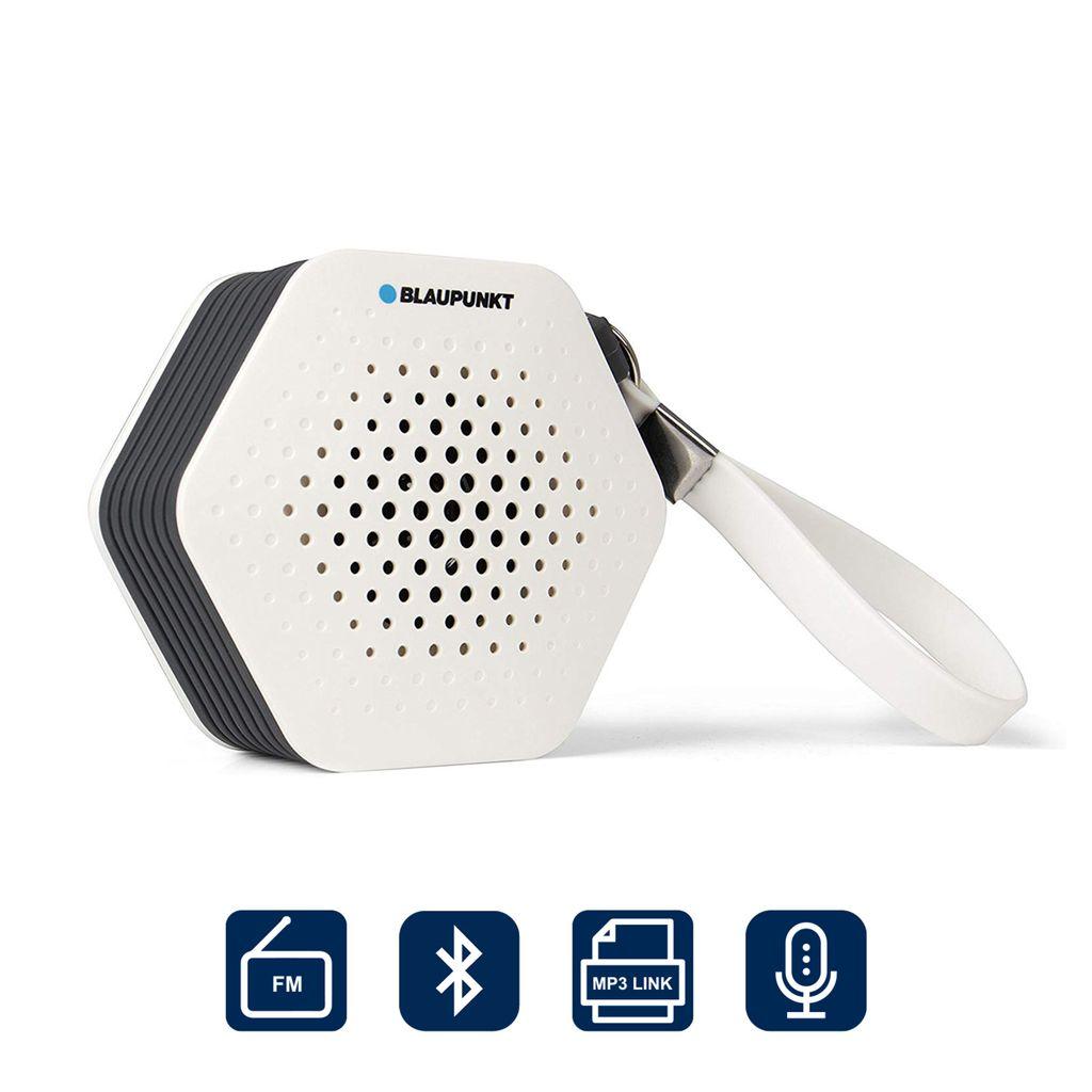 BLAUPUNKT Badradio SRB 200 Bluetooth, UKW PLL Radio, 20 Watt RMS,  Freisprechfunktion, Bluetooth Musik Streaming und Aux in