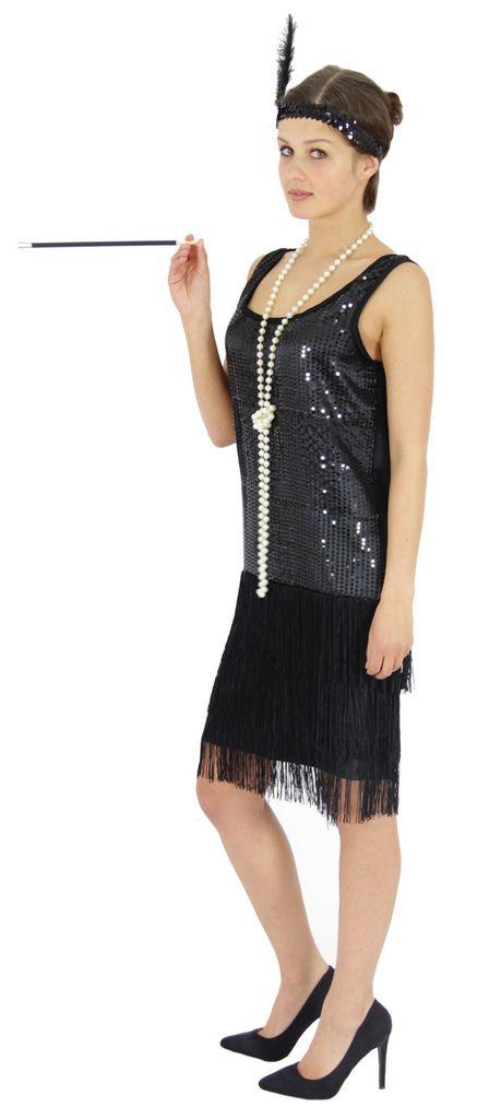 20er Jahre Damen Kleid Charleston Kostum Kaufland De
