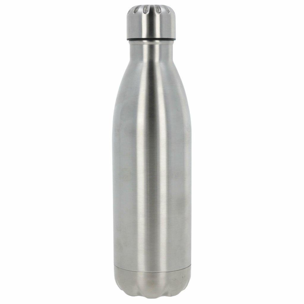 2 x Trinkflasche Edelstahl Isolierflasche Vakuum Flasche 0,5l Thermoflasche pink