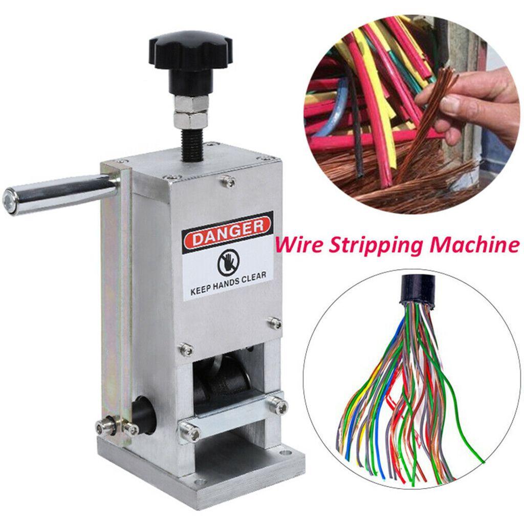 Kabelschälmaschine 20mm Handbuch Kabel Abisoliermaschine Kupferschrott Peeler