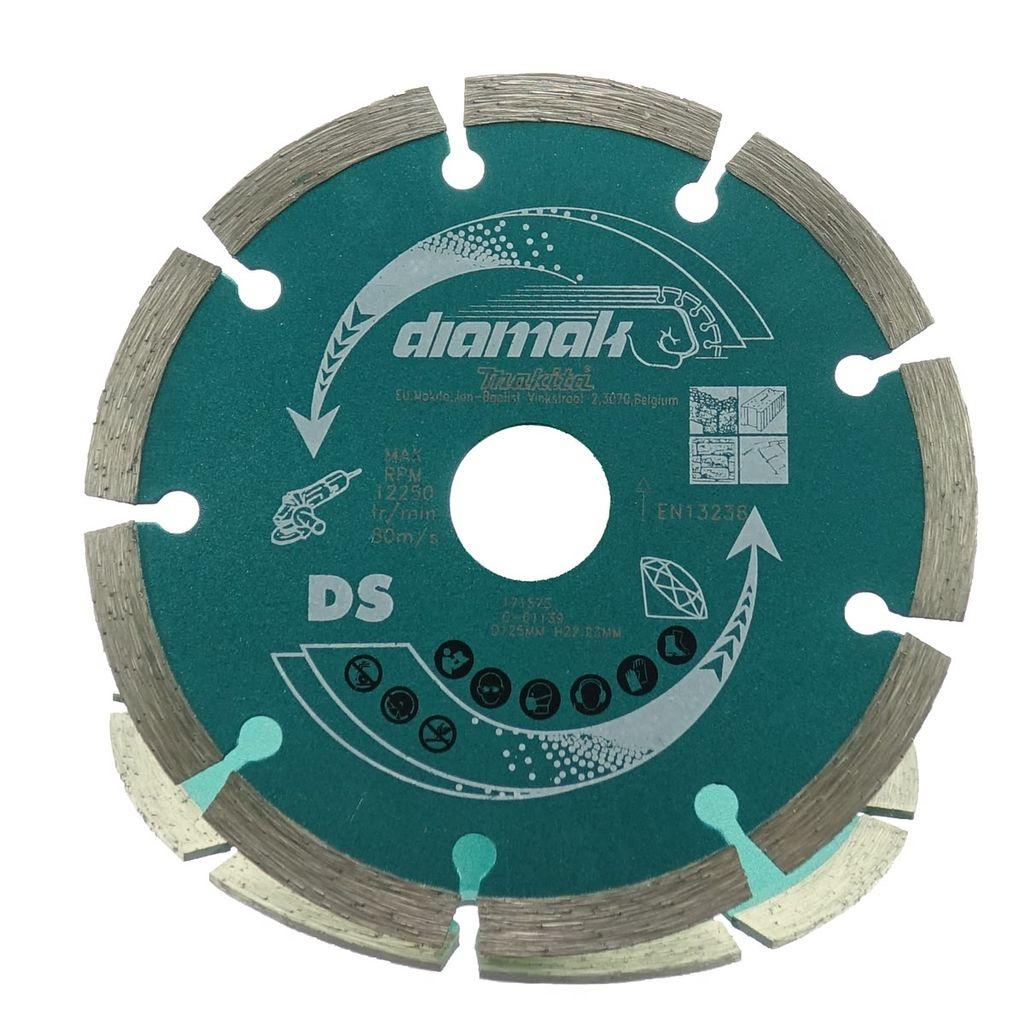 2x Diamanttrennscheibe Makita 125mm D-61139 P-45761