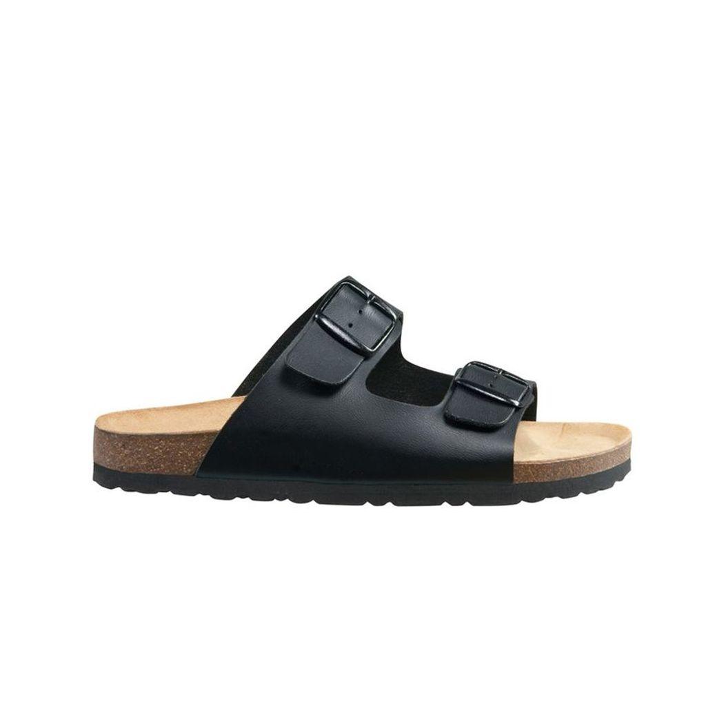 Bioline Clog Kids Pinke Sandaletten Hausschuhe Kork verstellbare Schnalle Lico