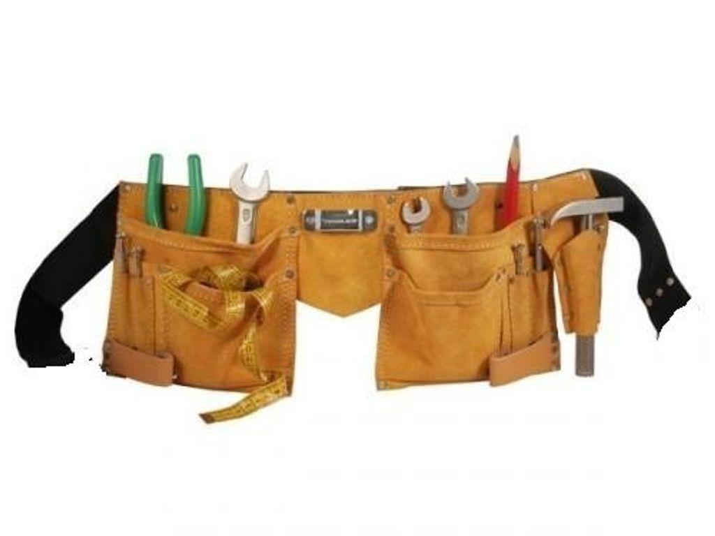 Gürteltasche Nageltasche für Schrauben Werkzeug Werkzeuggürtel