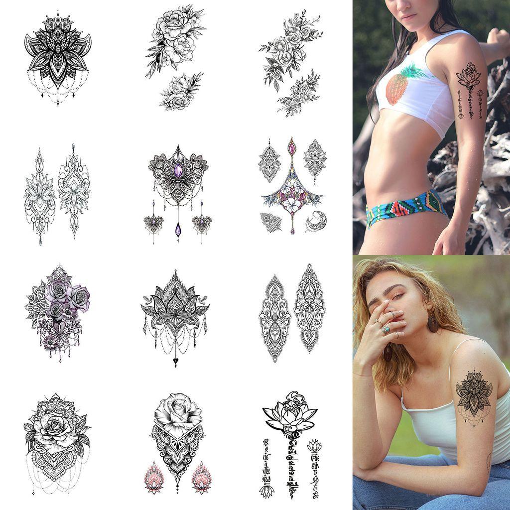 Frauen arm tattoo 125 Emotional