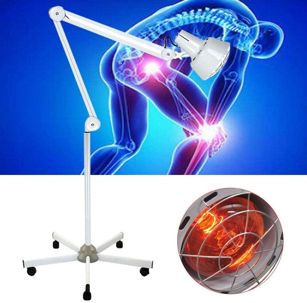 Infrarotlampe Wärmelampe Rotlichtlampe Bodenstand IR Strahler Infrarot 20V  20W Rotlicht Tpie Schmerzlinderung Infrarotlichttpie