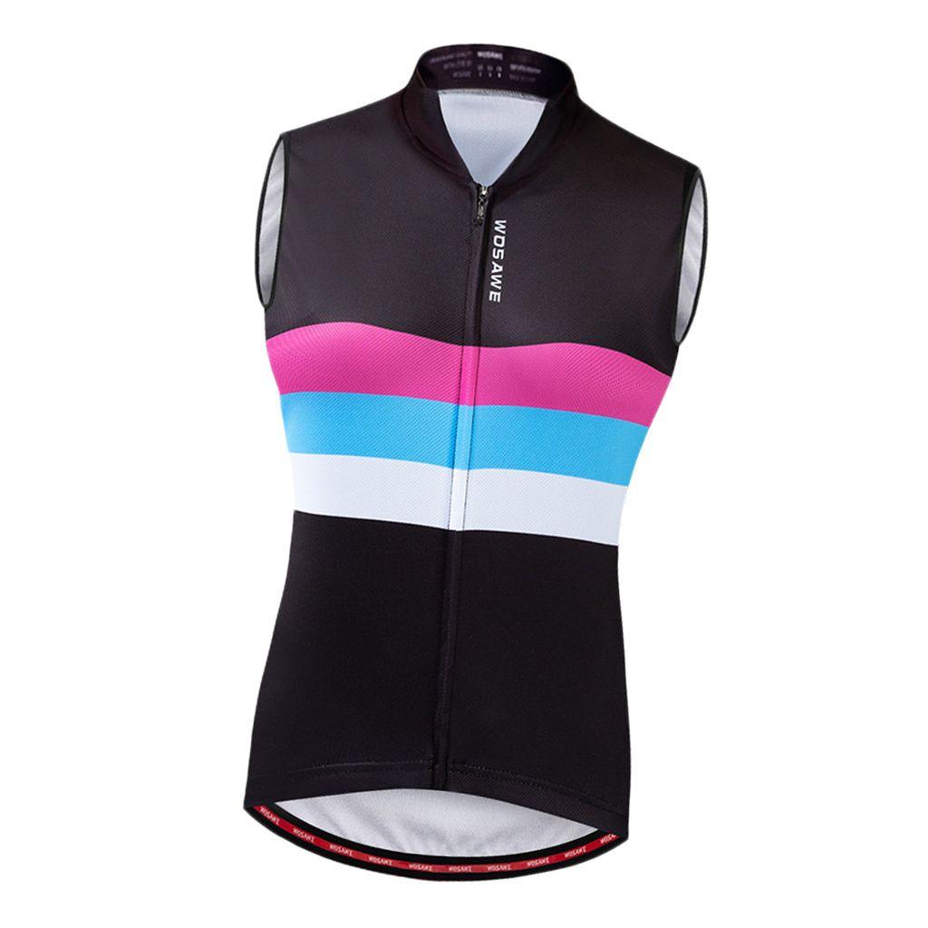 Damen Herren Fahrradweste Laufweste Sportweste Radweste Atmungsaktiv