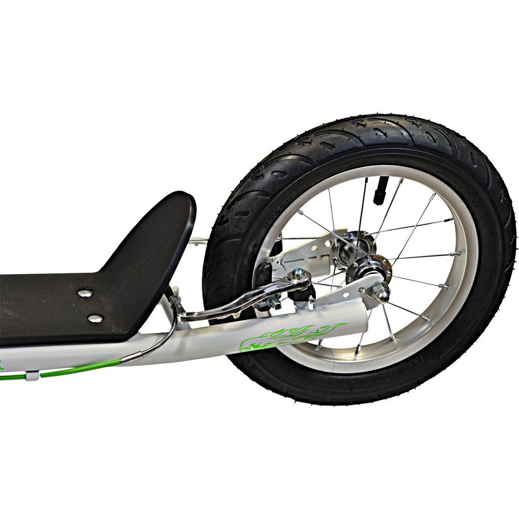ENERO 16//12 Zoll Tretroller Scooter Roller Cityroller Kickroller Dogscooter