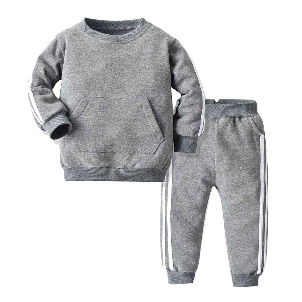 Set Kinder Jogginganzug Jungen Mädchen  Trainingsanzug Sportanzug Jacke Hose
