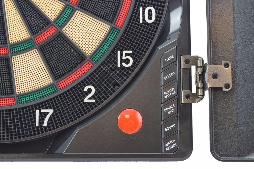 Best Sporting Elektronische Dartscheibe London Automat Dartboard Elektrisch NEU