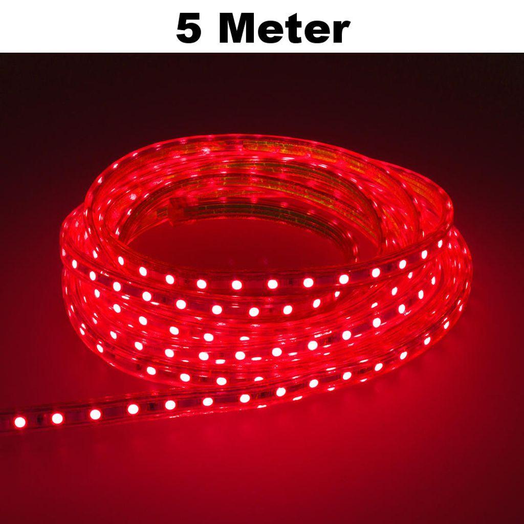 LED Lichterschlauch Lichtschlauch Leuchtstreifen Strip Deko Beleuchtung Flexibel
