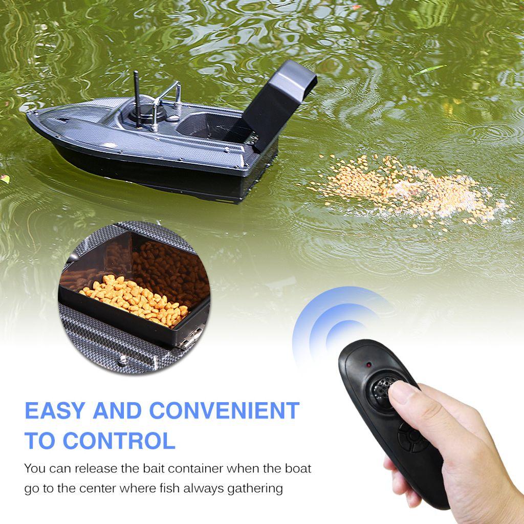 500M RC Fischerköder Boot mit GPS Position Haken stellen Tasche /& 2 Batterien
