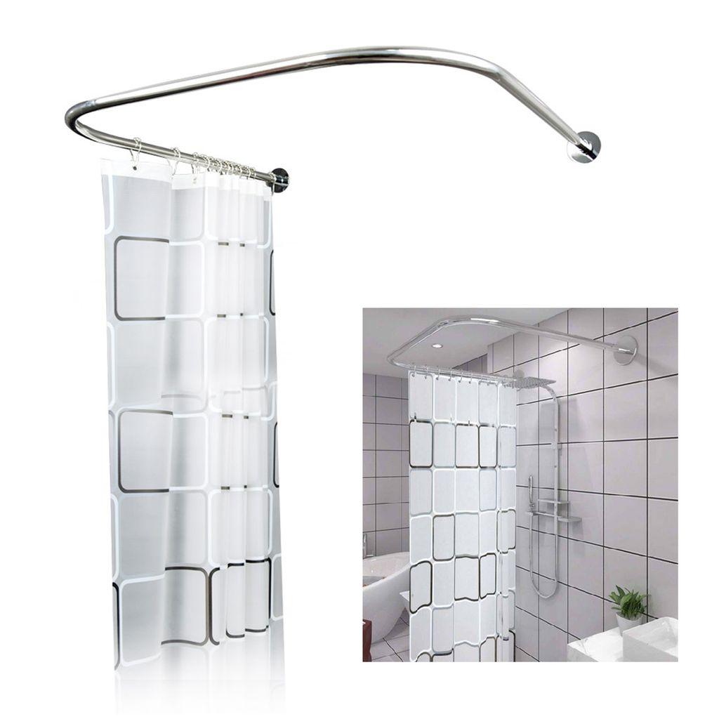 U Form Duschvorhangstange ohne Bohren   Kaufland.de
