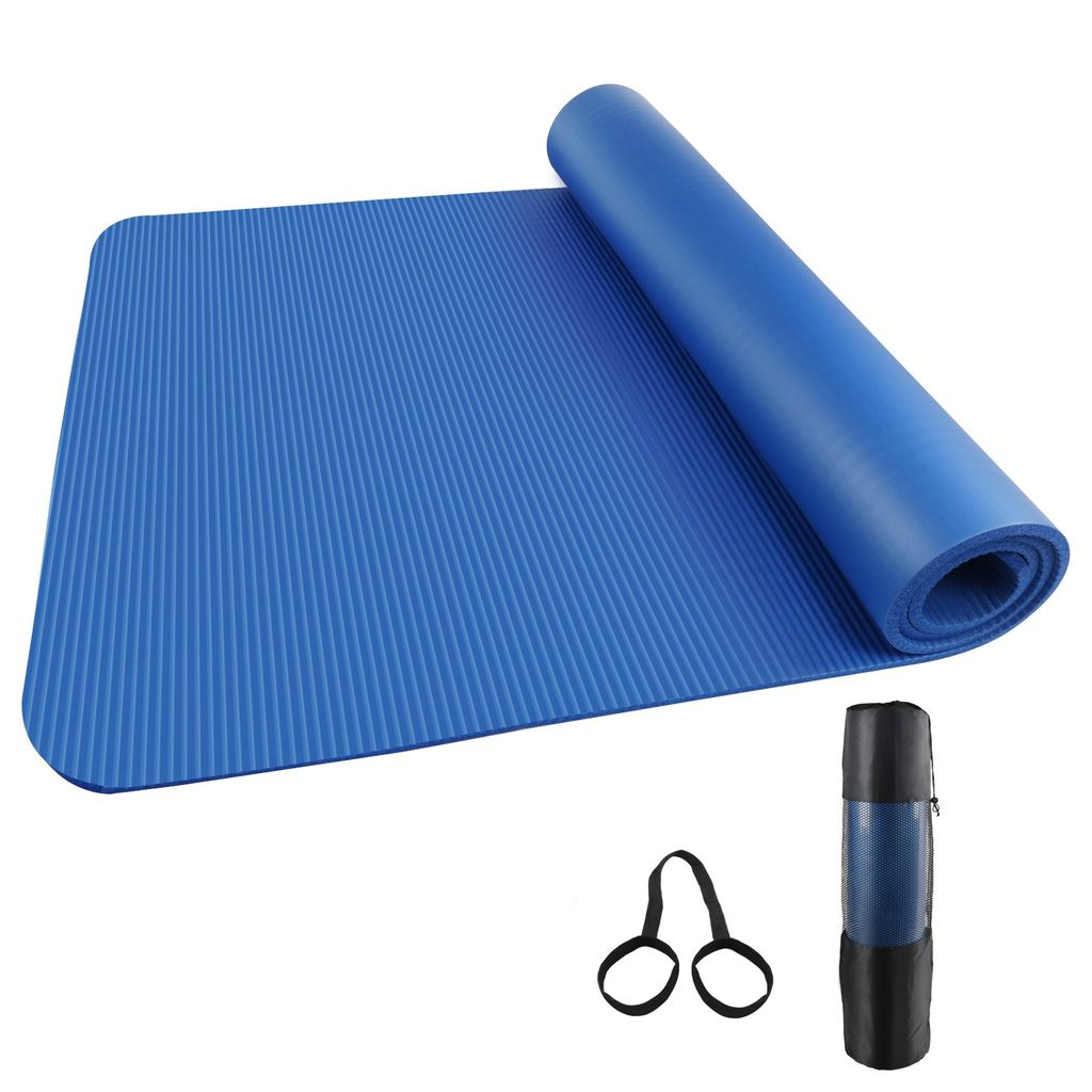 Yogamatte Fitnessmatte Gymnastikmatte 185x80x1,5cm Matte Sportmatte Bodenmatte B
