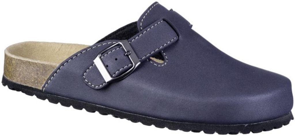 Jana Damen  Pantolette Sandalen Hausschuhe Clogs Slipper blau
