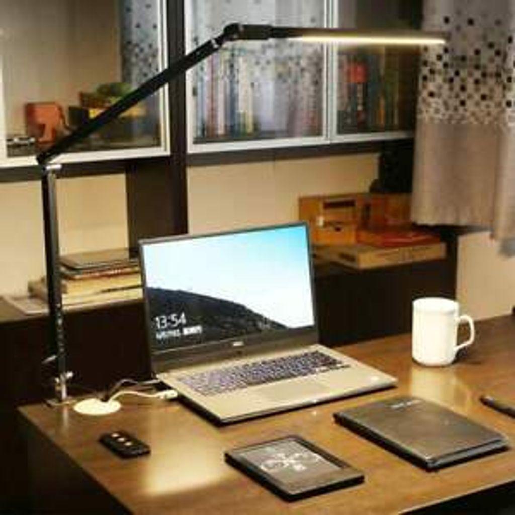 LED Schreibtischlampe Tischlampe Klemmleuchte  Leselampe Büroleuchte Buchlampe