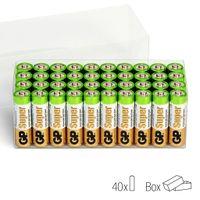 GP Super AA-Alkalibatterien 40 Stk. 1,5 V 03015AB40