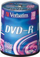 Verbatim DVD-R Rohlinge 100er Spindel