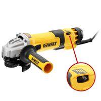 DeWALT Winkelschleifer DWE4246-QS Ø 115 mm / 1200 Watt mit Drehzahlvorwahl und Zubehör