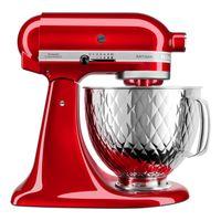 KitchenAid 5KSM156QPECA Küchenmaschine, Farbe:Liebesapfelrot
