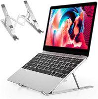Laptop Ständer Laptopständer Laptop Halterung - Ständer für Laptop für 8 -15 inch Laptop iPad, Laptop Ständer 7 Höhen Höhenverstellbar, Notebook Ständer kompatibel MacBook/Dell/Lenovo/Acer/Huawei