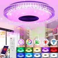 72W DIMMBAR RGB Deckenlampe Deckenleuchte Musik bluetooth Alexa/Google Home