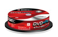 Emtec DVD+RW 4,7GB (10), 4,7 GB, DVD+RW, 4x