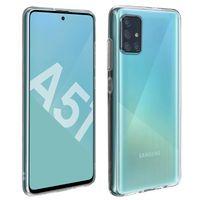360° Protection Pack für Samsung Galaxy A51: Cover + Displayschutzfolie