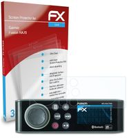 atFoliX FX-Clear 3x Schutzfolie kompatibel mit Garmin Fusion RA70 Displayschutzfolie
