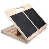 Navaris Stretch Board Waden Training - Fuß Stretcher Wadenstrecker für max. 150kg aus Holz