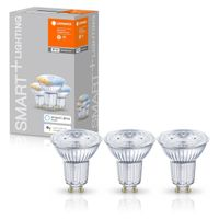 LEDVANCE SMART+ LED PAR16 40 (45°) BOX K DIM Tunable White WiFi Matt GU10 Spot 3er Pack