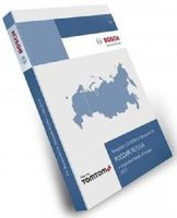 Blaupunkt Tele Atlas TomTom Russland FX 2013 Hauptverbindungsstraßennetz Europas