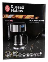 Russell Hobbs 20680-56 Buckingham - Glas-Kaffeemaschine, edelstahl/schwarz