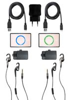 Ceecoach Kit Duo Kommunikationssystem, Farbe:rosa