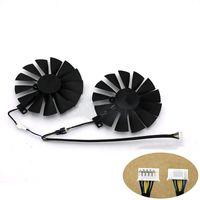 Kühlerlüfter mit zwei Lüfterkühlern für Asus GTX 1080Ti T129215SMGraphics Card