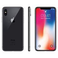 APPLE Iphone X 64Gb Sidereal Grau - Überholt - Ausgezeichneter Zustand