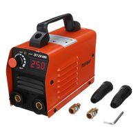 ZX7-250 250A 220V Tragbarer elektrischer Schweißer Mini MMA ARC IGBT Elektroschweißmaschine mit isolierter Elektrode