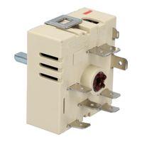 Zweikreis Energieregler Schalter rechtsdrehend für EGO 50.55021.100 5055021100 Herd Kochfeld