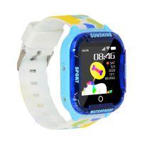 Kinder Smart Watch 1,44 Zoll Touchscreen mit LBS WiFi Tracker Kinder Smartwatch Telefonanruf SOS Voice Video Chat Kamera IP67 Wasserdichte digitale Armbanduhr fuer Jungen Maedchen Geschenke
