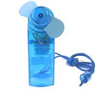 Ventilator Mini (Blau) Handventilator Miniventilator Hand Ventilator Umhängeband Lüfter